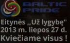 Lituanie: Les autorités municipales interdisent la Baltic Pride