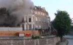 Incendie à Paris: aucune victime mais des dégâts matériels considérables