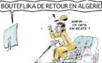 DESSIN DE PRESSE: Le retour morbide de Bouteflika