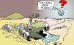 DESSIN DE PRESSE: Premier anniversaire sur Mars pour Curiosity