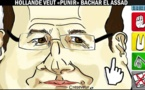 DESSIN DE PRESSE: Syrie, la punition de Hollande