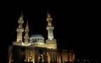 L'IMAGE DU JOUR – Une mosquée la nuit