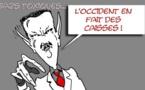 DESSIN DE PRESSE: Genève 2 sent le gaz pour Assad