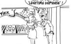 DESSIN DE PRESSE: L'affaire du bijoutier de Nice