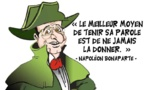 DESSIN DE PRESSE: Hollande pas au lit mais en Corse