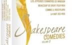 Cinq comédies de Shakespeare aux Editions Montparnasse