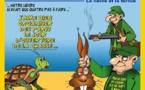 DESSIN DE PRESSE: Les actu-fabulations (4) – Le lièvre et la tortue