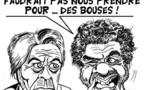 DESSIN DE PRESSE: Opération barbouze contre Alain Delon