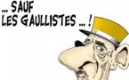 DESSIN DE PRESSE: Sur la tombe du Général de Gaulle