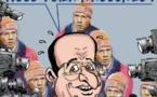 DESSIN DE PRESSE: Le président français soulagé
