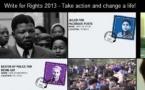 Écrire pour les droits: deux millions de lettres, de tweets et de SMS pour changer des vies