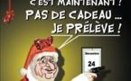 DESSIN DE PRESSE: Le père Noël est une ordure