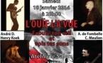 Concert du groupe L'ouïe l'a vue à Nice