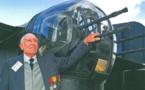 Deuil d'un aviateur français de la Seconde Guerre Mondiale