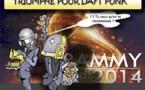 DESSIN DE PRESSE: Triomphe de Daft Punk aux Grammy Awards