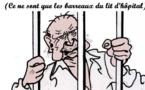 DESSIN DE PRESSE: Jacques Chirac hospitalisé