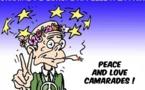 DESSIN DE PRESSE: Guerre civile à la porte de l'Europe