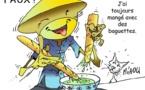 DESSIN DE PRESSE: Les asiatiques gagnent du blé