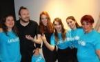 What's live art: des étudiants de l'Espème-Edhec soutiennent l'Unicef