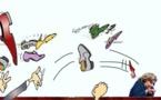 DESSIN DE PRESSE: Hillary Clinton a eu shoe