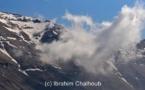 Nuage sur la montagne