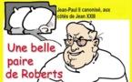 DESSIN DE PRESSE: Les canons de la Papauté