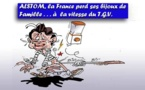 DESSIN DE PRESSE: General Electric et Alstom