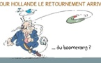 DESSIN DE PRESSE: Hollande ça s'en va et ça revient