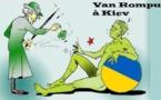 DESSIN DE PRESSE: Le Conseil européen soutient la présidentielle en Ukraine
