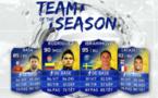 L'équipe de l'année de la Ligue 1 FIFA 14
