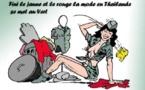 DESSIN DE PRESSE: La junte shunte la ministre