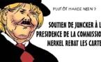 DESSIN DE PRESSE: Merkel soutient Juncker