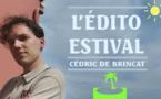 Edito estival–Orages, eau des espoirs