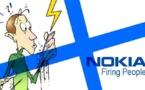 DESSIN DE PRESSE: Sauna amaigrissant pour Nokia
