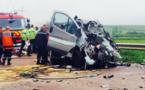 Faits divers en vidéo: 6 morts dans une collision entre un minibus et un camion dans l'Aube