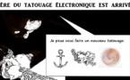 DESSIN DE PRESSE: Motorola invente le tatouage électronique