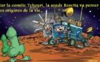 DESSIN DE PRESSE: Rosetta a atteint son objectif