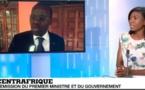 République centrafricaine: Démission du gouvernement
