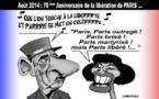 DESSIN DE PRESSE: Anniversaire de la libération de Paris