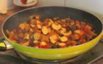 RECETTES EN VIDÉO - Poêlée provençale et tofu épicé