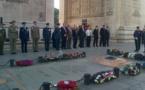 Pilotes français de la RAF honorés à Paris