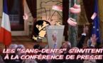 Hollande, une conférence sur les dents ou sur les rotules?