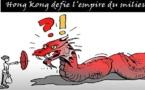 Pluie de répression à Hong Kong