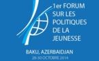 Forum des Jeunes à Bakou