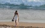 L'IMAGE DU JOUR: La mariée et la mer