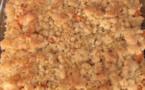 RECETTES EN VIDÉO - Crumble salé au butternut