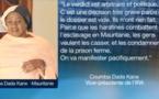 Mauritanie: Libérer l'ancien candidat présidentiel et les militants anti-esclavagistes