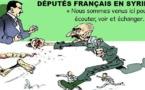 Les députés français visitent le boucher Bachar