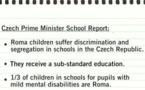 République tchèque: Les enfants roms victimes de discriminations