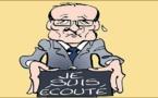 Hollande se réconforte aux Antilles